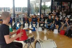 Streetbeats Percussie Workshop